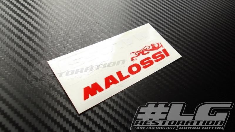 Aufkleber Malossi