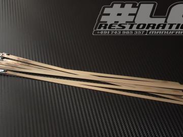 Metallkabelbinder 30cm - 10er Set