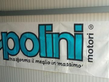 Polini Banner Stoff 1,5x0,7m