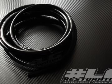 Benzinschlauch Schwarz 5m - 6x10mm