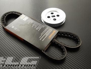 Keilriemen / Pully Set 80mm für SI