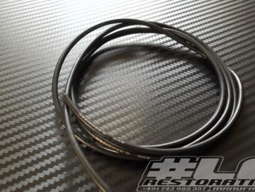 Kabel 2,0mm² Schwarz 1m