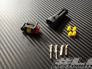 Stecker Set 2-Polig