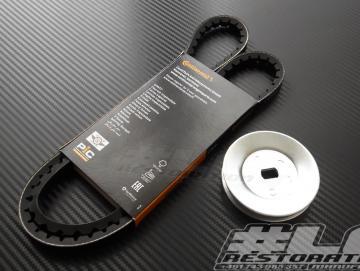 Keilriemen / Pully Set 70mm für SI